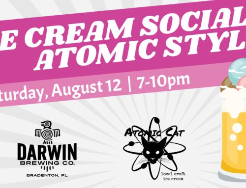 Darwin + Atomic Cat = Craft (Beer x Ice Cream) Float Explosion
