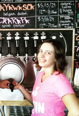 Brewer Spotlight:  Megan Michael