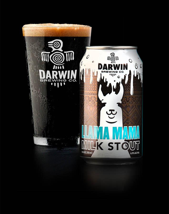 llama mama milk stout