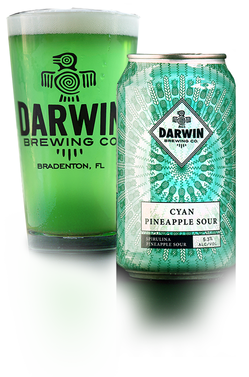 Darwin Brewing Co. Cyan Pineapple Sour