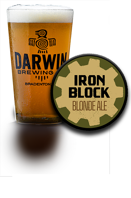 Darwin Brewing Co. Iron Block Blonde Ale