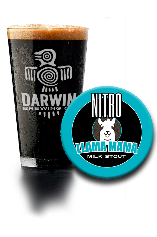 Darwin Brewing Co. Nitro Llama Mama Milk Stout