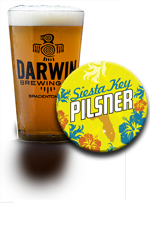 Darwin Brewing Co. Siesta Key Pilsner