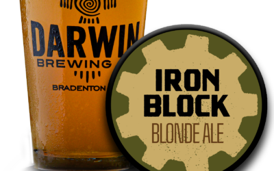 Coming Soon! Iron Block Blood Orange Blonde Ale