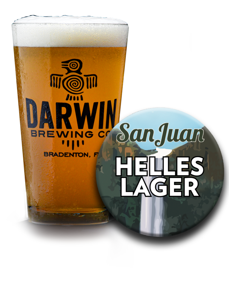 Darwin Brewing Co. San Juan Helles Lager